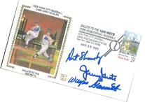 1969 New York Mets autographed Z Envelope by Art Shamsky,