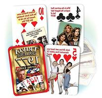 Flickback 1977 Trivia Playing Cards: 40th Birthday or