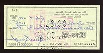 1979 Sam Baugh Signed Personal Check