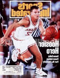 1993 Damon Bailey Hoosiers Sports Illustrated