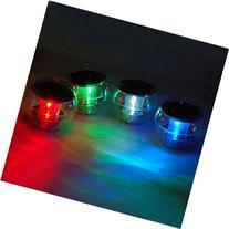 1PCS Solar Power Waterproof LED Color Changing Globe Light