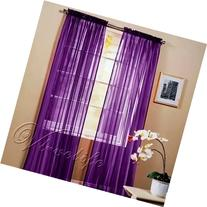 1kidandaheadache 2pc Purple Voile Fully Stiched Elegant