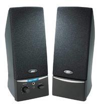 2.0 Black Stereo Speaker