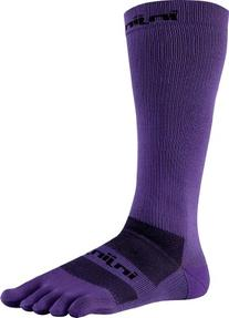 Injinji 2.0 Men's Compression Over The Calf Toesocks, Purple