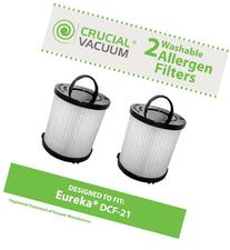 Think Crucial 2 Replacements for Eureka DCF-21 Filter Fits