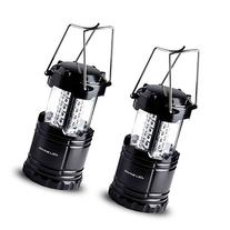 Vont Bright 2 Pack Portable Outdoor LED Camping Lantern,