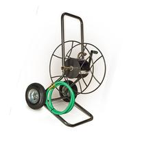 Hose Reel, Steel, Silver, 18 in. Dia