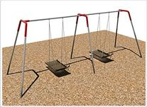Sports Play Equipment 581-482 2-Bay ADA Platform Swing
