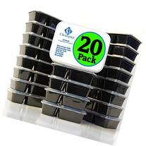 Choice Prep 2 Compartment Containers - 20 Pack