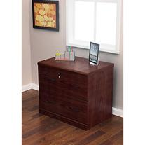Z-Line Designs 2-Drawer Lateral File Espresso Cabinet with