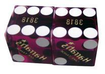Pair  of 19mm Precision Casino Dice - Used in Harrah's