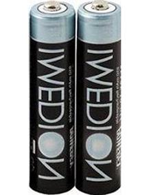 2 Powerex Imedion AAA 950mAh 1.2V Rechargeable Batteries