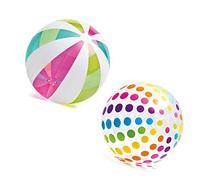 Intex Piece Jumbo Inflatable Translucent Dots / Stripes