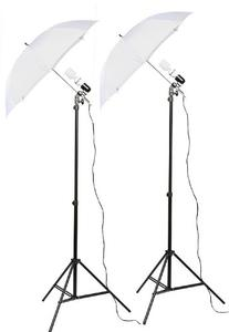 Fancierstudio 2 Light Kit  Umbrella Lighting Kit,