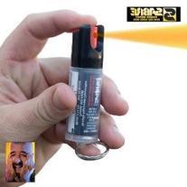 2 Sabre Pepper Spray 0.54oz Key Ring 3in1 KR-14 LOT NEW