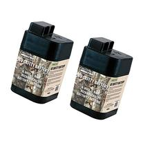 2 MOULTRIE 6 Volt Rechargeable Safety Batteries for