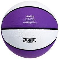 Tachikara Intermediate Size, 2-Tone Rubber Basketball