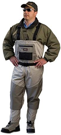 Caddis Men's Attractive 2-Tone Tauped Deluxe Breathable