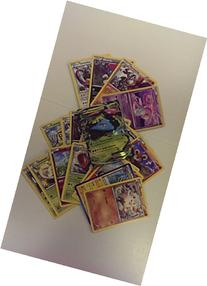 20 Pokemon Card Pack Lot - With Level X or Ex Card + 4 Rares
