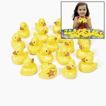 Fun Express OTC Plastic Weighted Carnival Ducks Matching