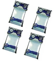 BUNDLE of 200: Clear Sleeves: Standard Card Game Pack (50