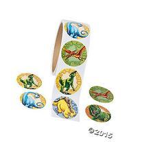 200  Cool DINOSAUR Stickers - PREHISTORIC Party FAVOR - DINO
