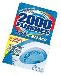 Wd-40 2000 Flushes Blue Plus Bleach Automatic Bowl Cleaner