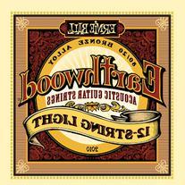 Ernie Ball Earthwood 12-String Light 80/20 Bronze Acoustic