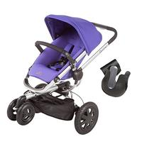 2013 Quinny Buzz Xtra Stroller in Purple Pace with Cup