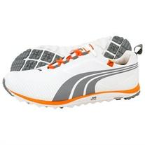 New 2013 Mens PUMA Faas Lite Golf Shoes White/Tradewinds