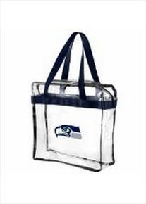 NFL Baltimore Ravens Clear Messenger Bag, One Size, Black