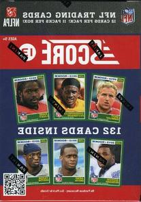 2013 Score NFL Football Exclusive Factory Sealed Retail Box