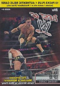 2013 Topps Best of WWE Wrestling Blaster Box