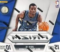 2014/15 Panini Prizm NBA Basketball JUMBO box