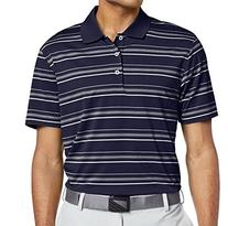 Adidas 2014/15 Men's Puremotion Textured Stripe Polo Shirt