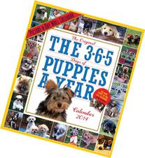 The 365 Puppies-A-Year 2014 Wall Calendar