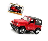 2014 Jeep Wrangler Red 1/32 by Jada 97313