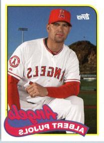2014 Topps Archives Baseball Card # 172 Albert Pujols -