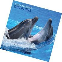 2014 Calendar: Dolphins: 12-Month Calendar Featuring