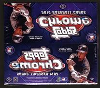 2014 Topps Chrome Baseball Cards Jumbo Hobby Box