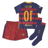 2015/2016 FC BARCELONA LIONEL MESSI #10 HOME FOOTBALL Soccer