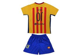 2015/2016 FC BARCELONA LIONEL MESSI #10 AWAY FOOTBALL SOCCER