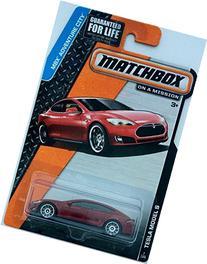 Matchbox 2015 MBX Adventure City 7/120: Tesla Model S