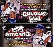 2015 Topps Chrome Baseball Jumbo Hobby Box
