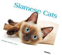 Siamese Cats 2015 Wall Calendar