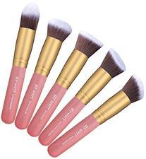 BS-MALL New 14 Pcs Makeup Brushes Premium Synthetic Kabuki