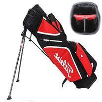Titleist 2015 Ultra Lightweight Stand Bag Black/Red/White