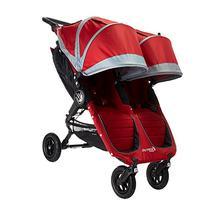 Baby Jogger 2016 City Mini GT Double Stroller - Crimson/Gray