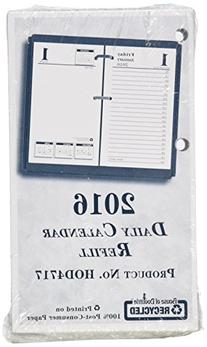 "House of Doolittle 2016 Desk Calendar Daily Refill, 3.5"" x 6"