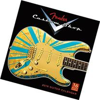 2016 Fender Custom Shop Guitars Wall Calendar
